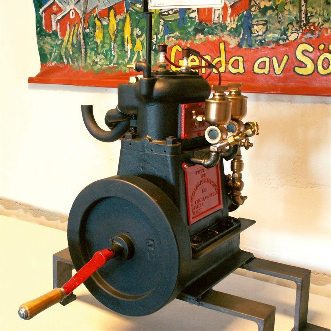 Mjällomsvikens motormuseum
