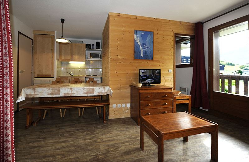 2 Pièces cabine 6 Pers skis aux pieds / BALCONS D'OLYMPIE 535