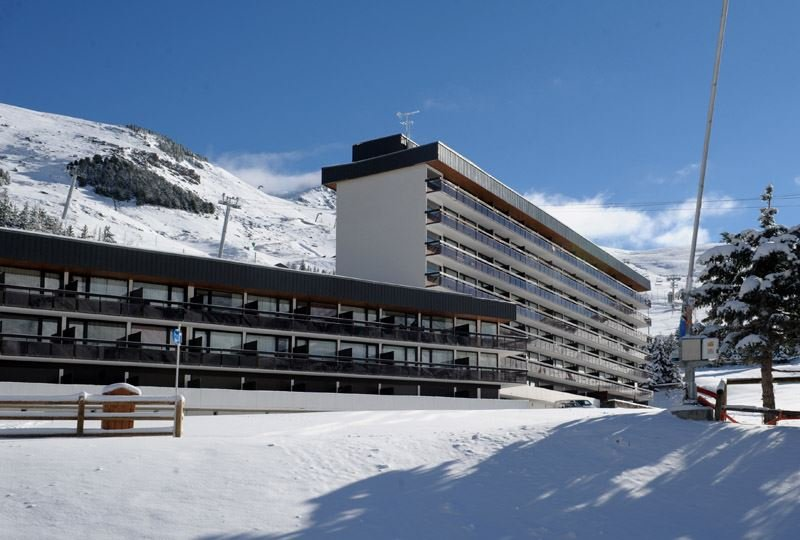 3 Pers Studio ski-in ski-out / ARAVIS 9