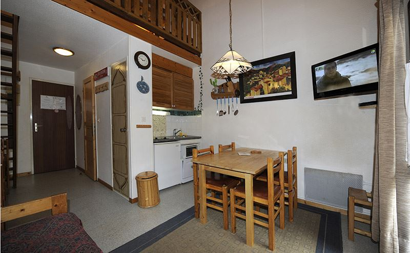 2 Rooms 4 Pers 200m from the slopes / ARGOUSIER 143