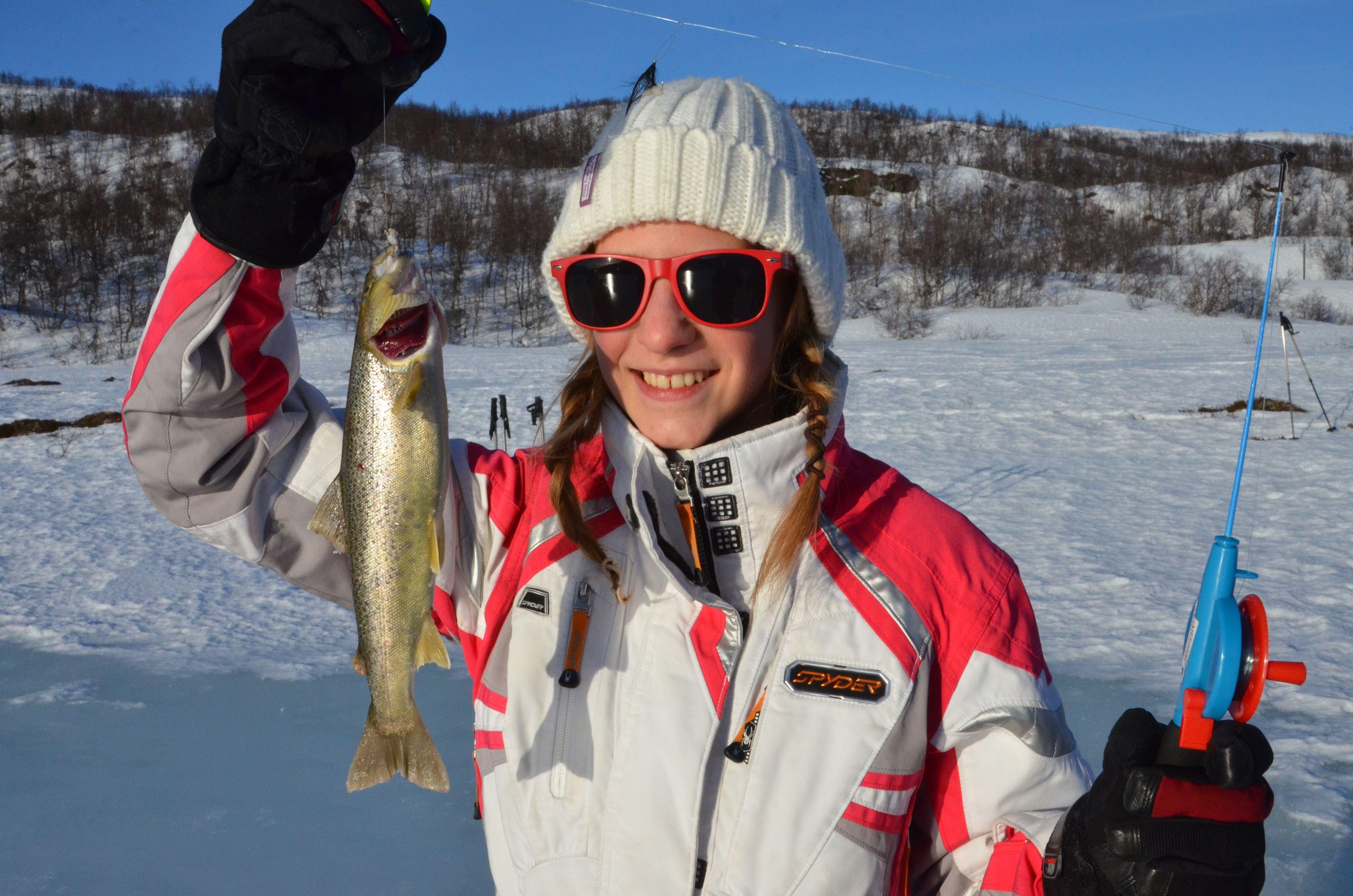 Isfiske og trugetur – GuideGunnar (fra 15.01.)