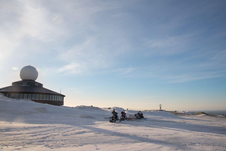Snøscootersafari til Nordkapp