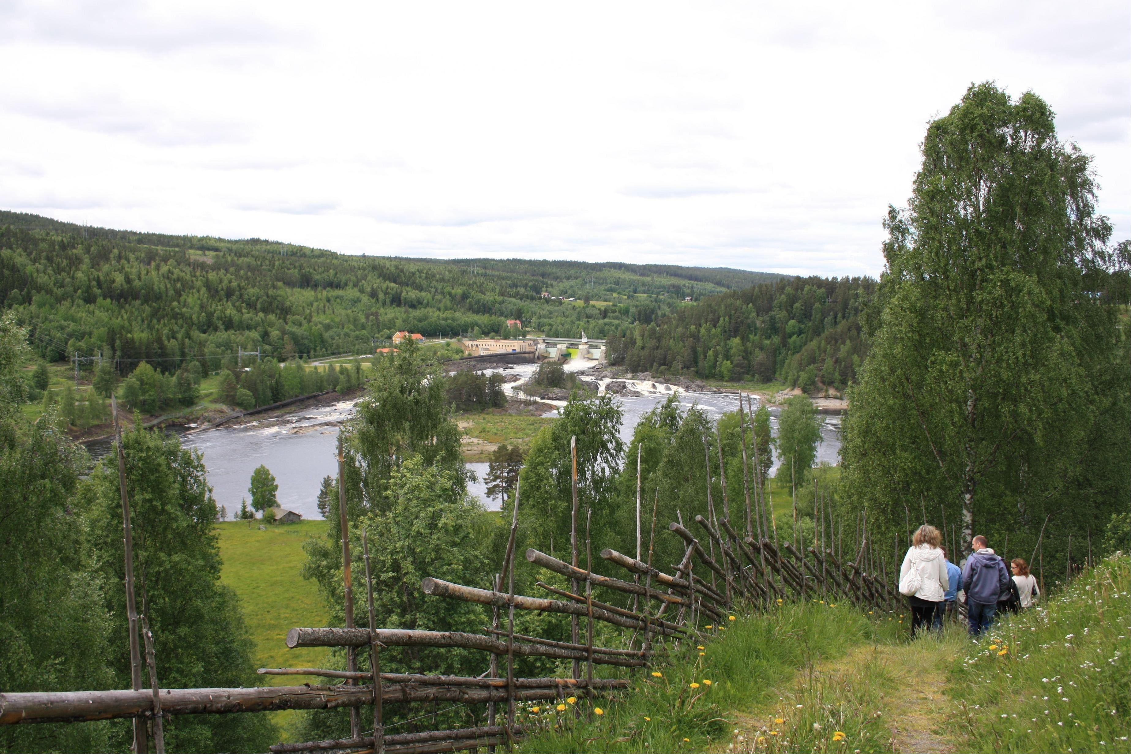 Foto. Leif Kårén, Ådalsleden vid Nämforsen