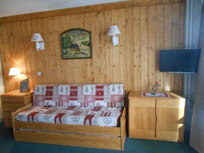 4 Pers Studio ski-in ski-out / CHANTENEIGE 204