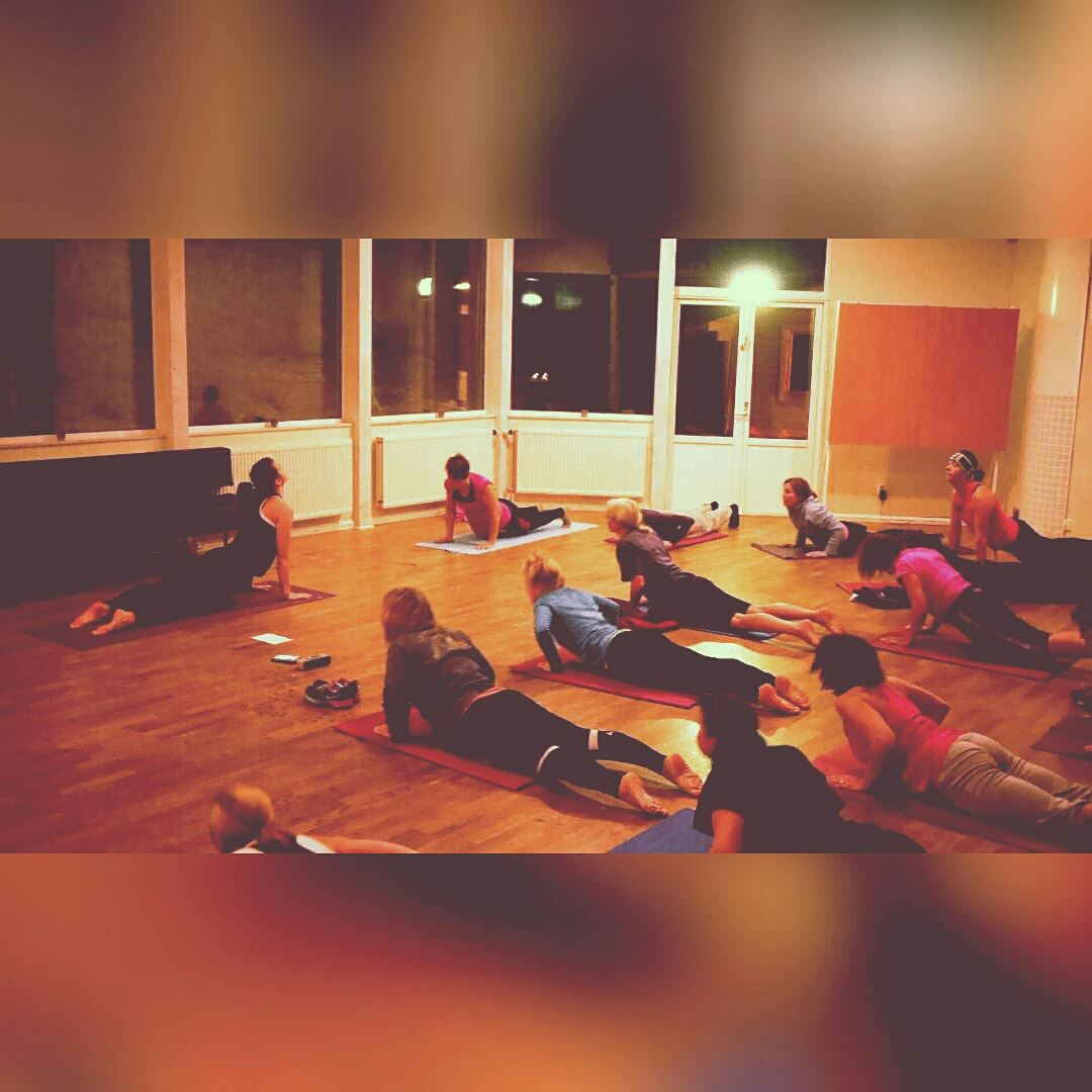 Yoga i Backsalen, Tärnaby Fjällhotell