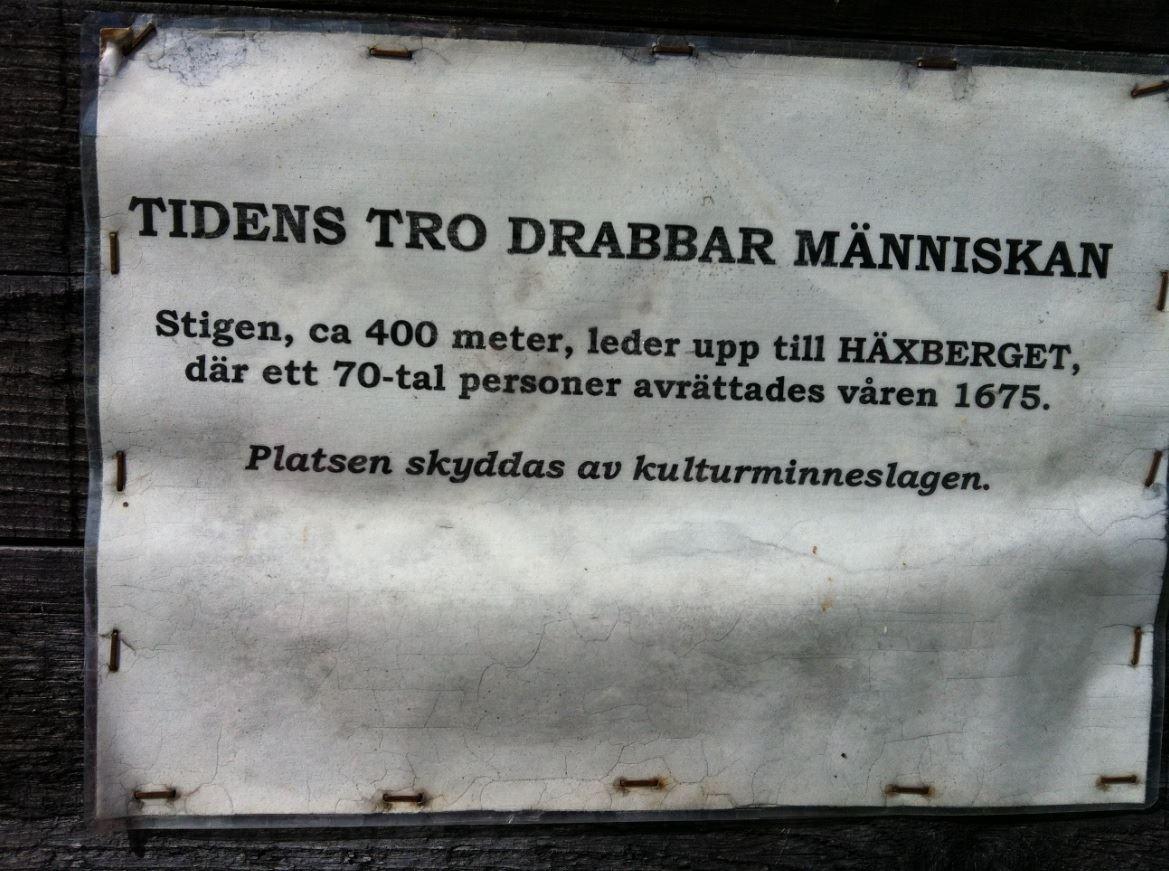 Foto: Karin Sjölund, Häxberget