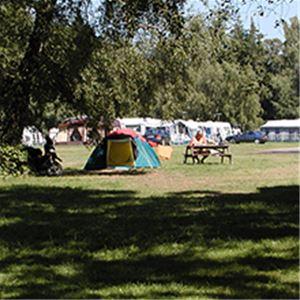 Nordskoven Strand Camping udlejning campingvogn