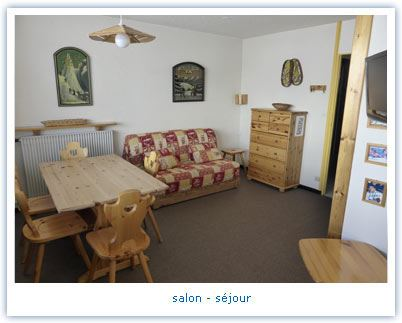 2 Rooms 5 Pers ski-in ski-out / ARAVIS 211