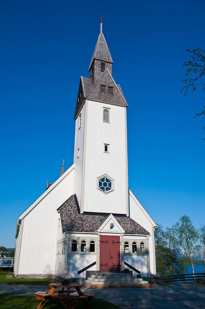 Marianne Lindgren,  © Hemavan Tärnaby PR-förening, Tärna kyrka