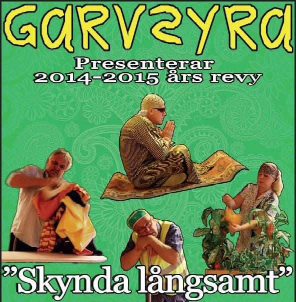 Revy med Garvsyra - Skynda långsamt
