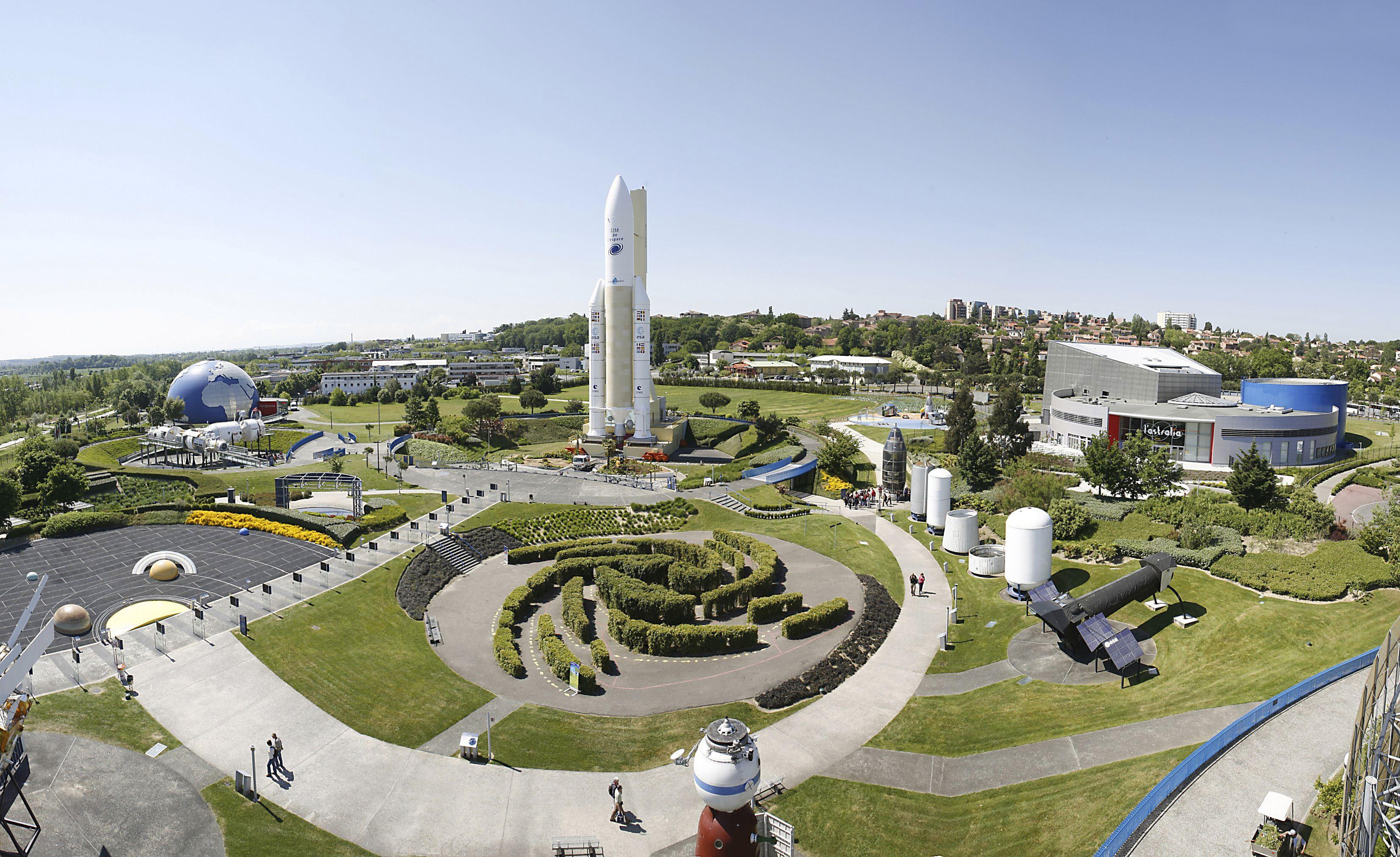 Weltraumstadt Cité de l'espace