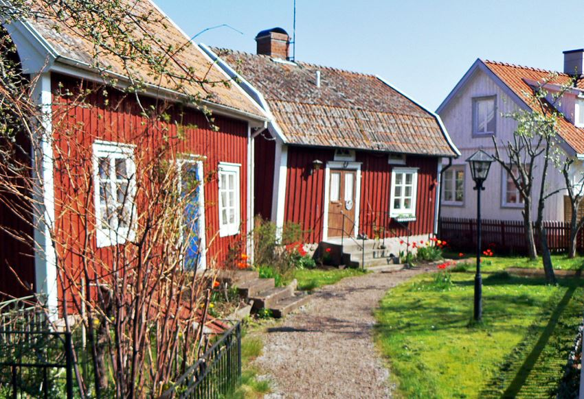 Pataholms köping – idyll och nostalgi. Guidning på sommaren
