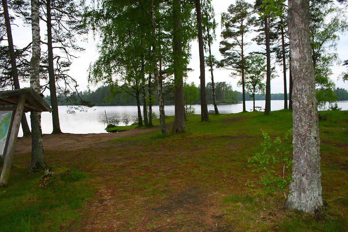 Bräkentorpasjöns badplats