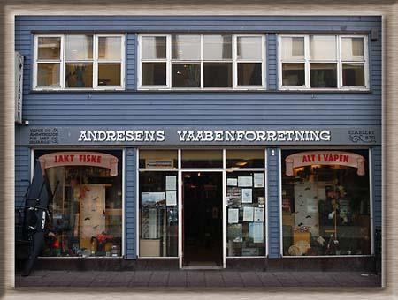 © Andresens Vaabenforretning, Andresens Vaabenforretning