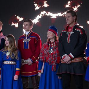 © MSM, Sami week with Norwegian Championship in reindeer racing and lasso throwing