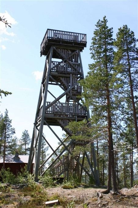 Lookout tower at Selsknösen