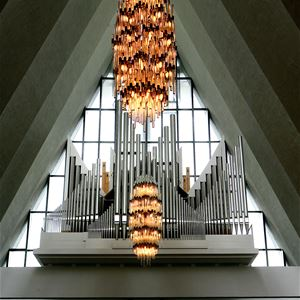 Orgelkonsert i Ishavskatedralen