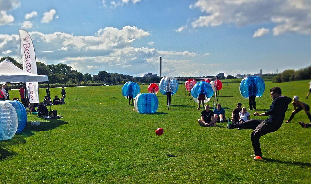 Bubble Football - fotbollen till en roligare nivå