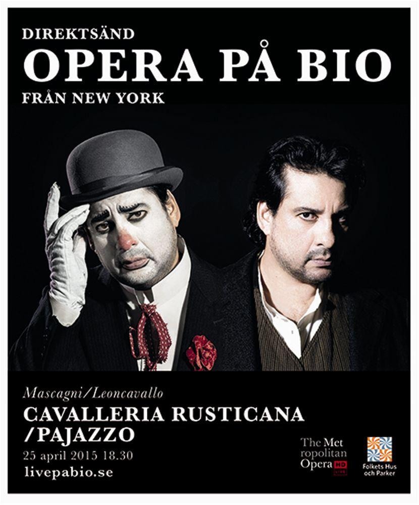 Live på bio - Cavalleria Rusticana och Pajazzo