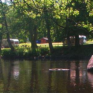 Camping- och lägerplats för fiskare