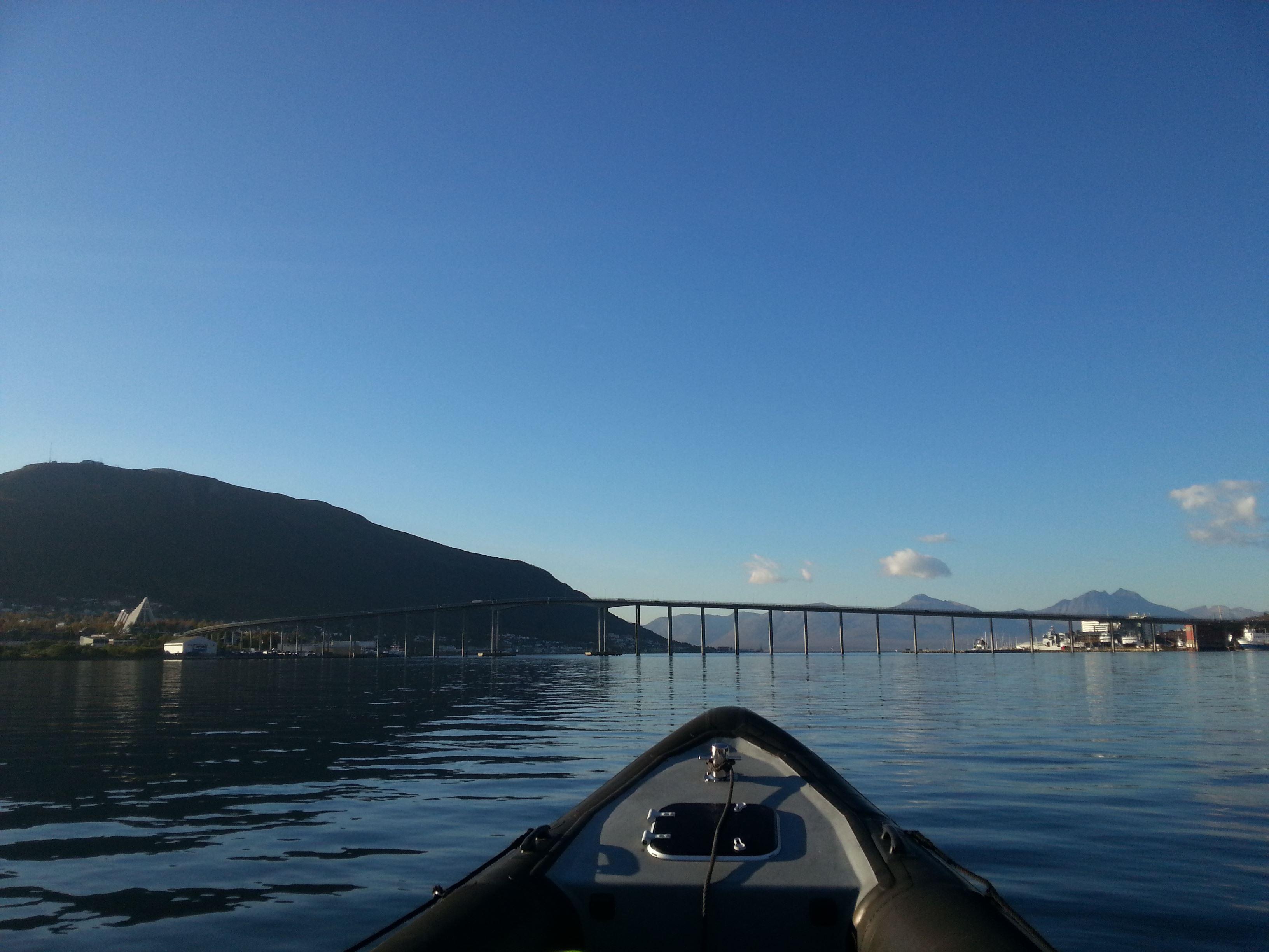Sightseeing med RIB-båt rundt Tromsø – Tromsø Friluftsenter