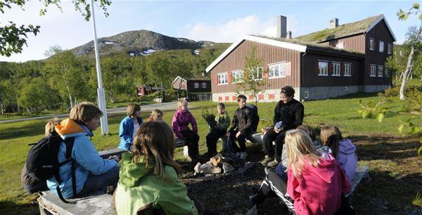Julie Maske, Sylmassivet (norska sidan) - DNT Nedalshytta