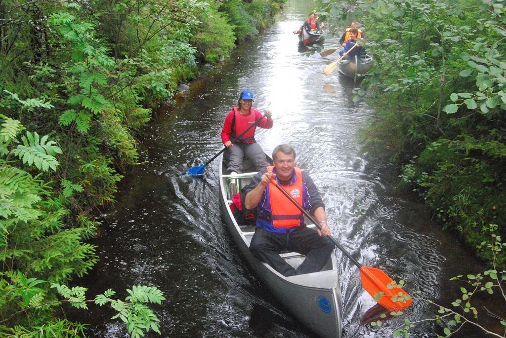 Canoeing/kayaking in the sea - Holmsund