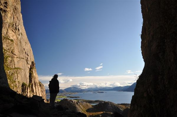 Torghatten Camping, Torghatten camping & beach restaurant (Cabins and appartments).