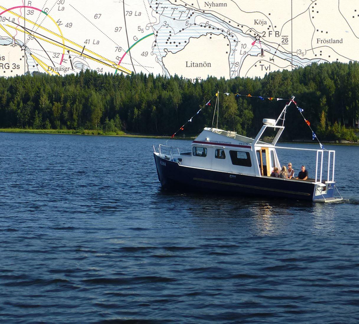 Nyhamns Båtcharter - Båten Alma