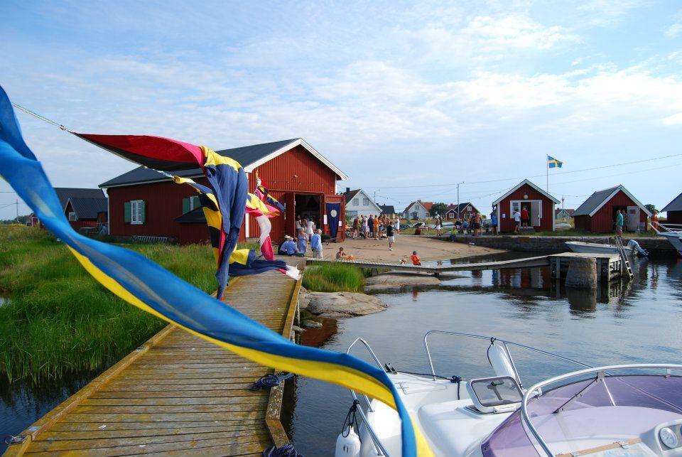 Hamnfest på Stenshamn