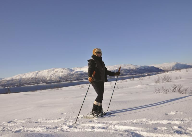 Snowshoe Trip from Tromsø Villmarkssenter