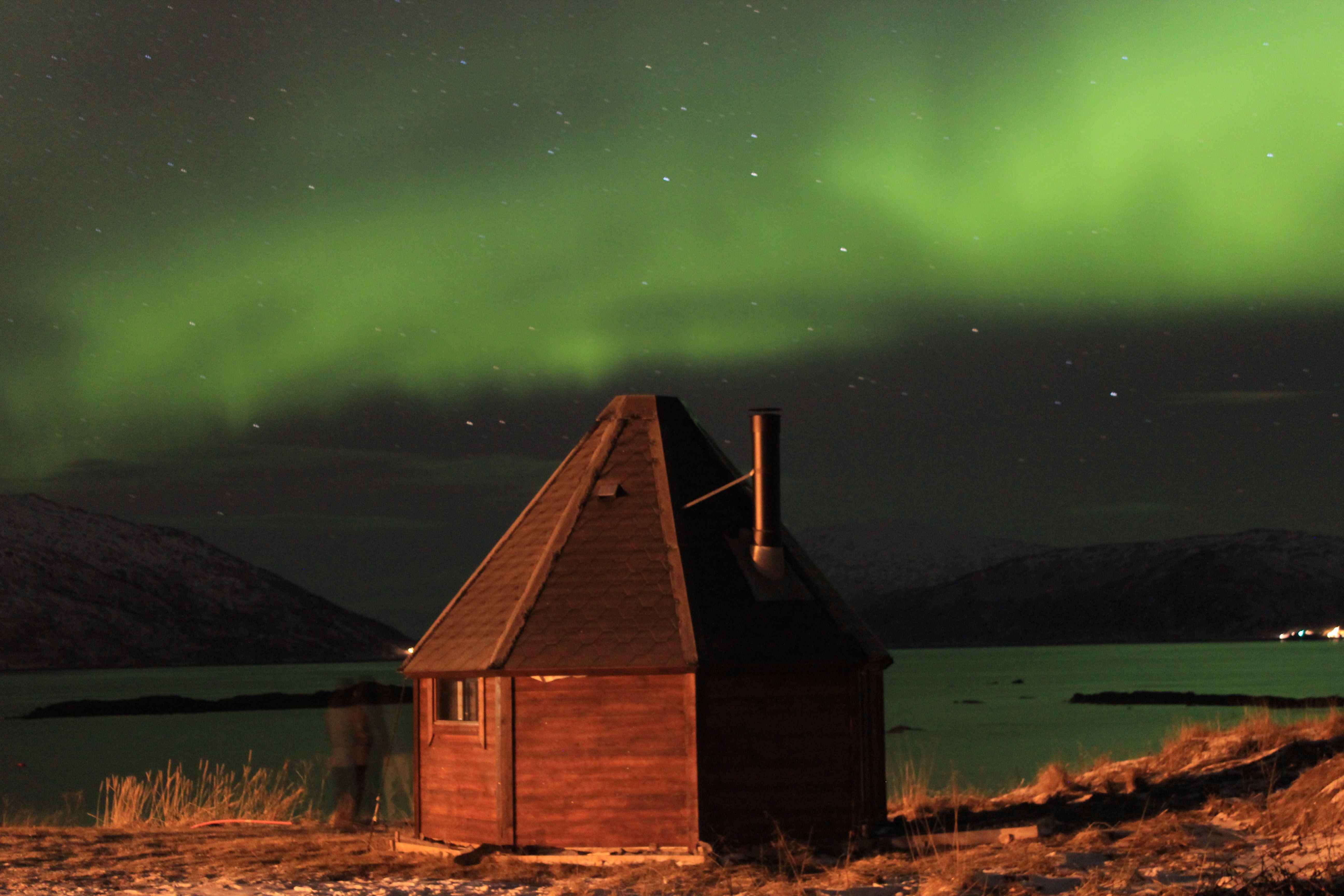 Nordlys overnatting i Lavvo - Tromsø Friluftsenter