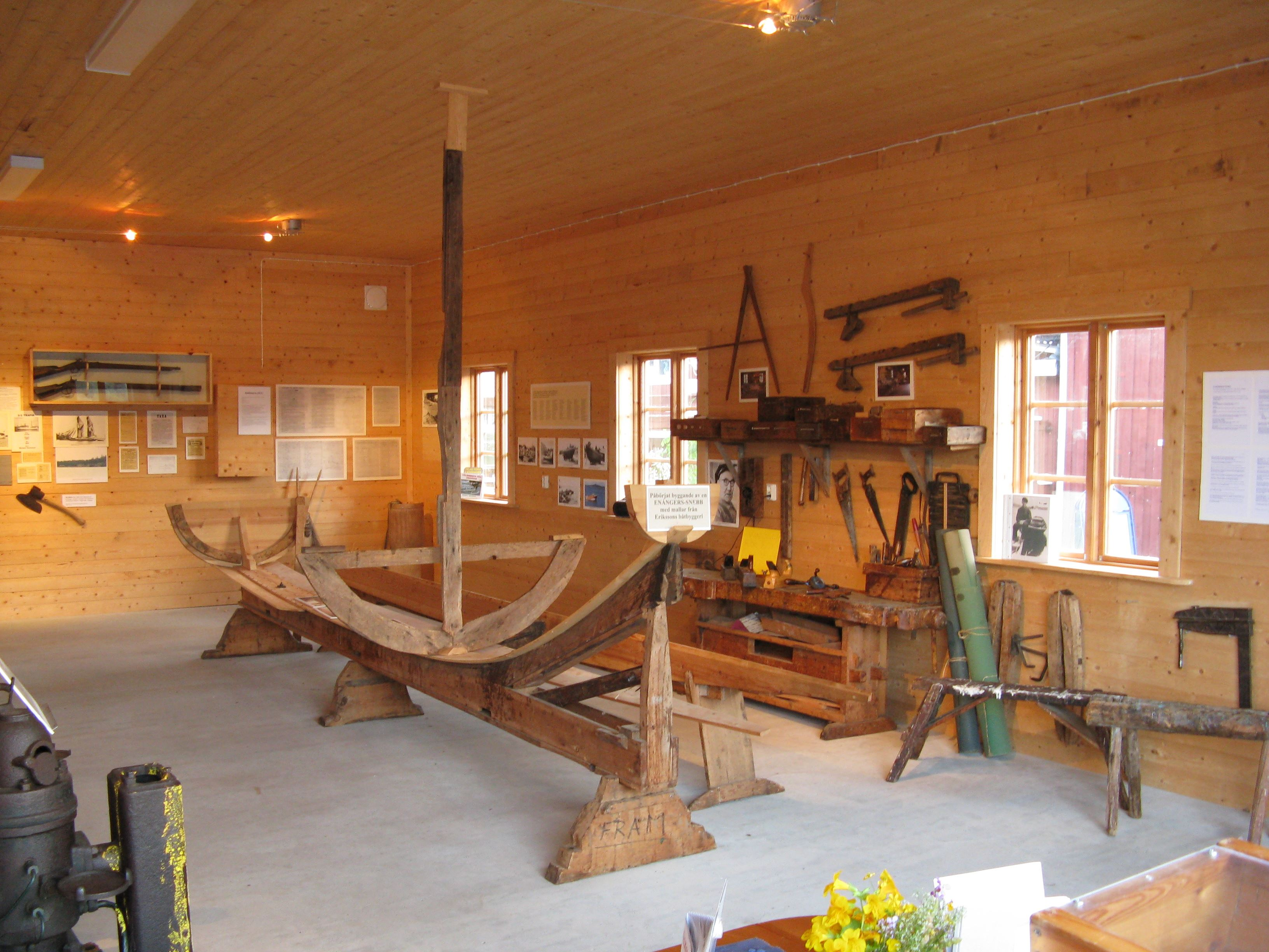 Motor & båtbyggarmuseum, Borka brygga.