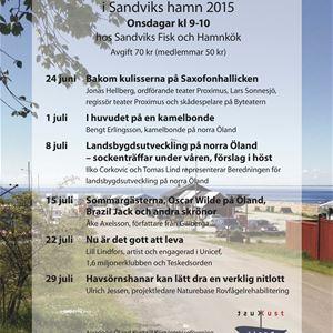 Frukostmöte i Sandviks Hamn