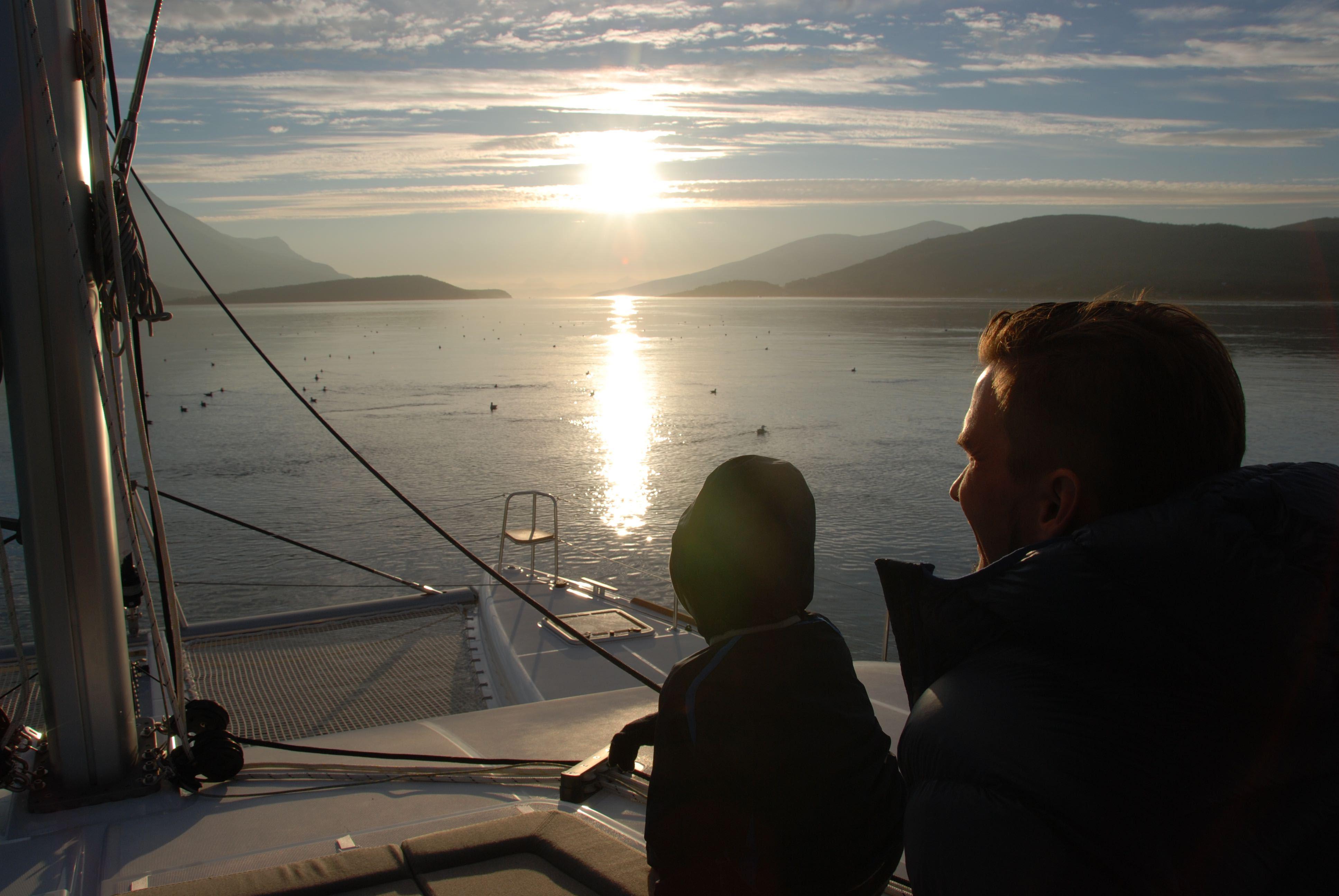 Fjordcruise – Seiltur rundt Tromsøya - Arctic Cruise in Norway