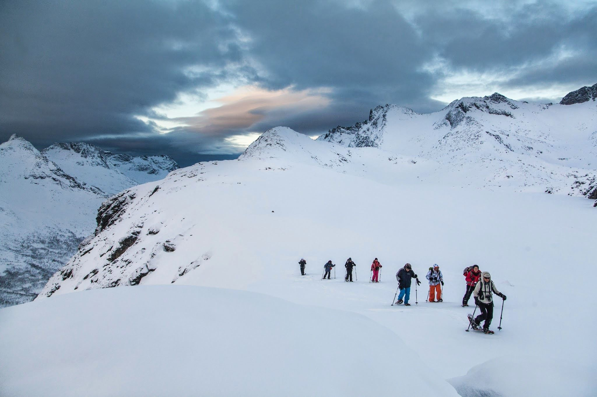 Guided Snowshoeing Hill Hike on Kvaløya - Tromsø Outdoor