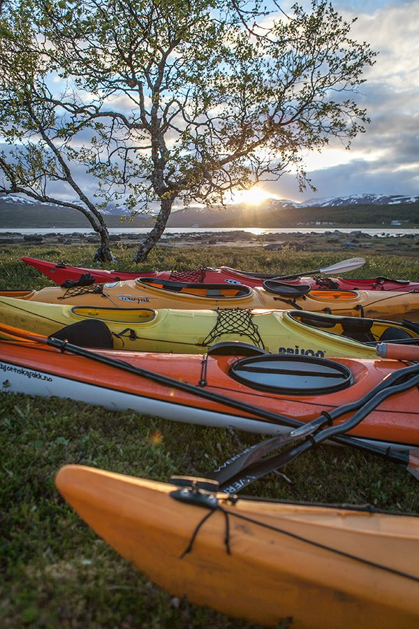 Midnight Sun Kayak Camp – Tromsø Villmarkssenter