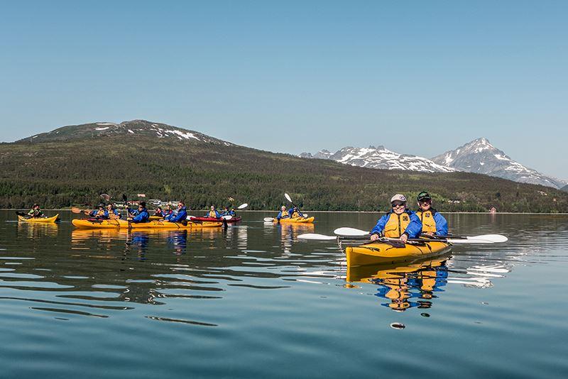 Sea Kayaking - Tromsø Villmarkssenter