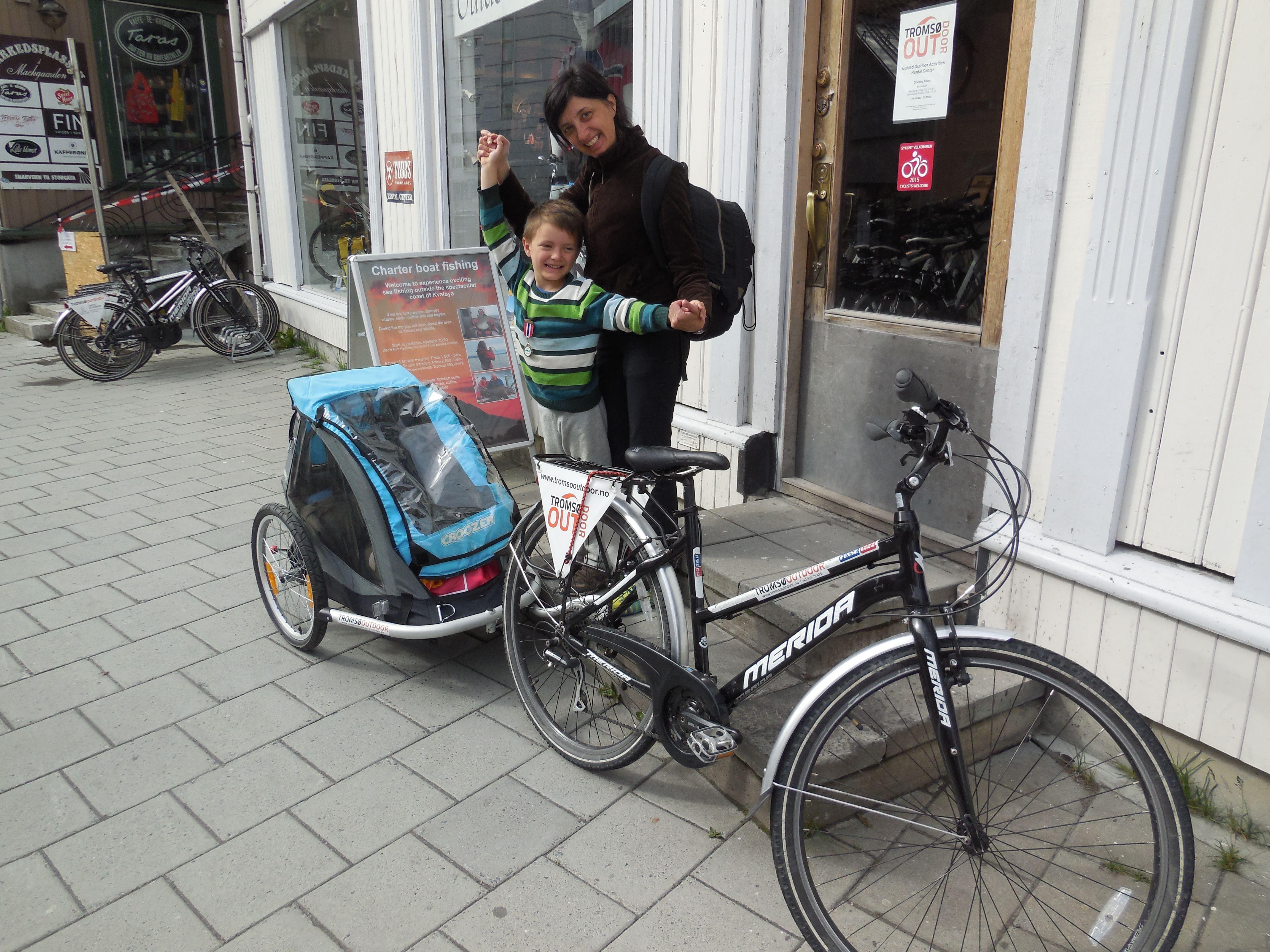 City Bike Rental - Tromsø Outdoor