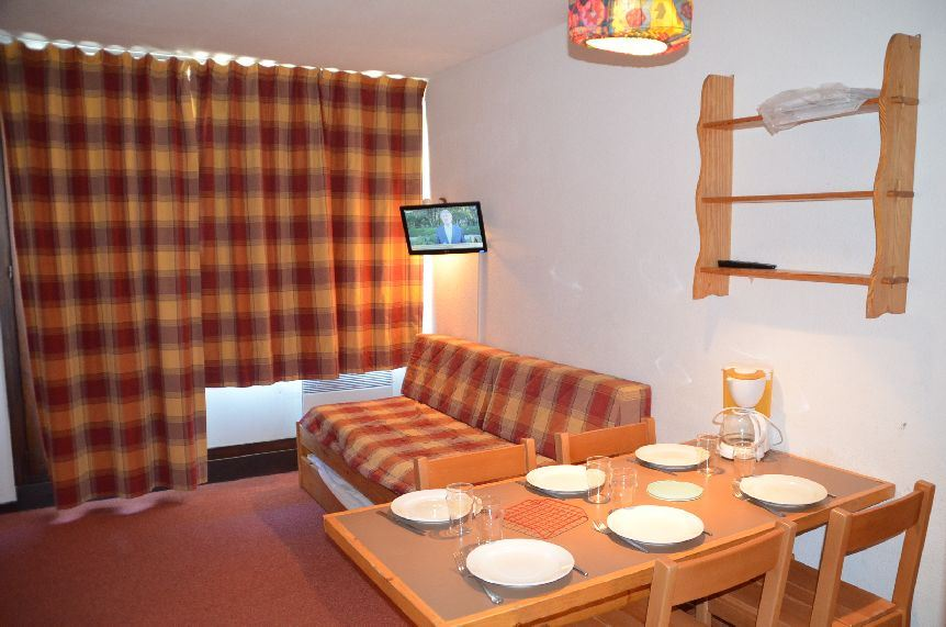 Studio cabine 4 Pers skis aux pieds / VILLARET 508
