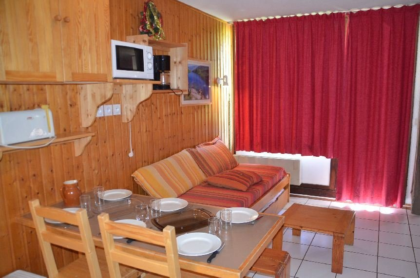 Studio cabin 5 Pers ski-ion ski-out / VILLARET 712