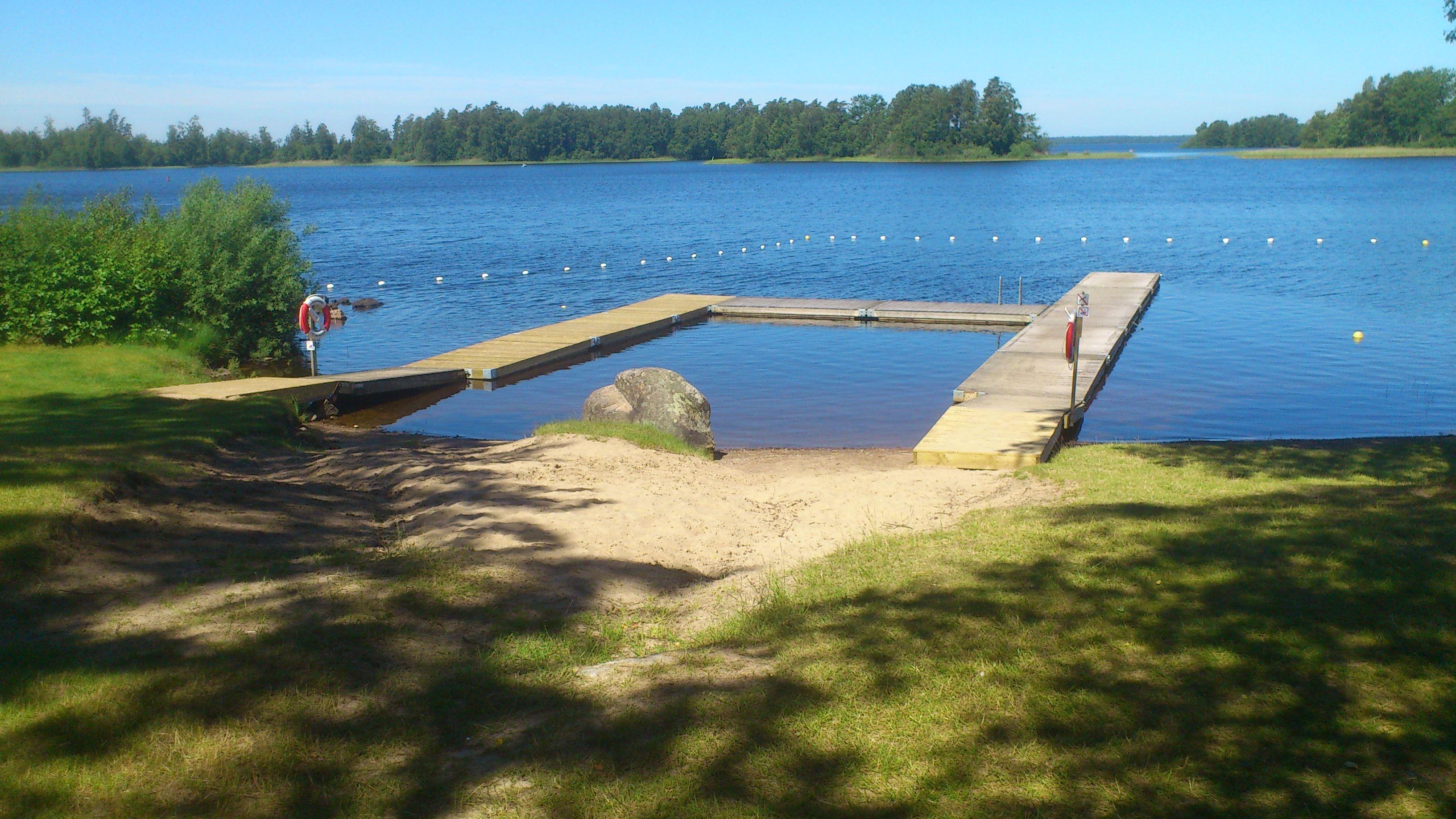 Bathing-place Bolmen community
