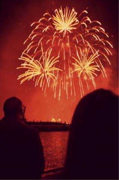 Croisière feu d'artifice du 14 juillet !