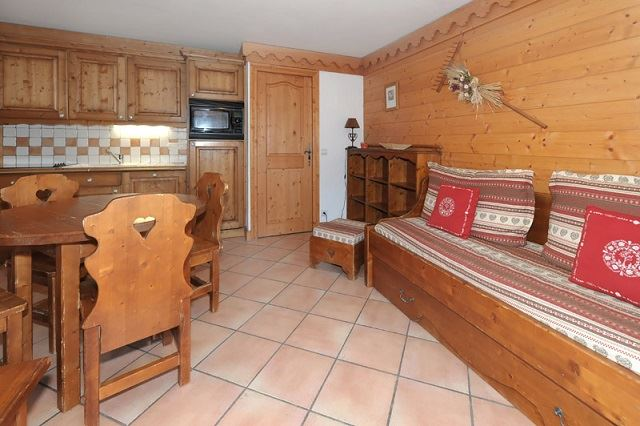 3 Room 6 Pers ski-in ski-out / ALPAGES DE REBERTY 21