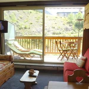 2 rooms 5 persons / LES GRANDES BOSSES 2 INDEPENDANT STUDIOS FACE TO FACE (mountain of charm)