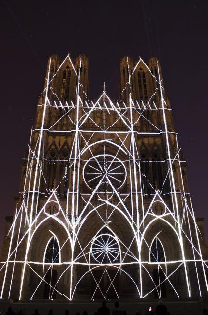 Reims by night - visite bilingue français/anglais