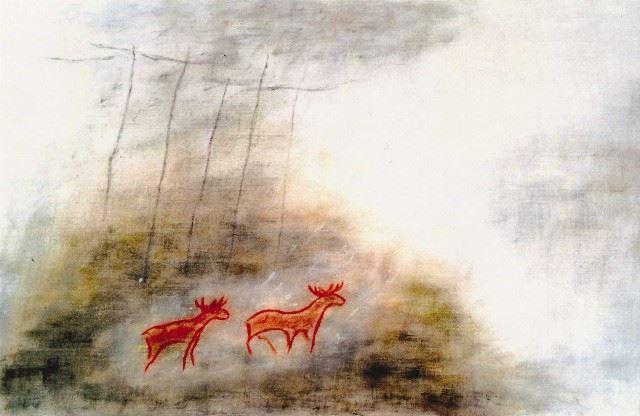 Karin Björklund, Konst i härbret