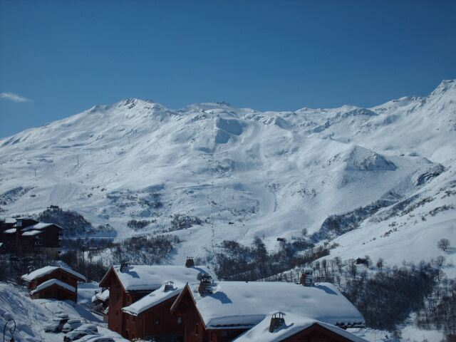 3 Rooms 6 Pers ski-in ski-out / LES CRISTAUX 3