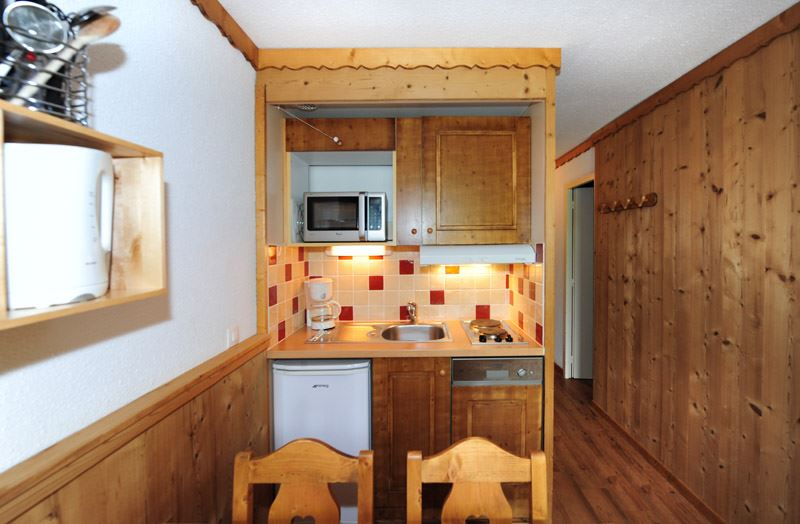4 Pers Studio + cabin ski-in ski-out / VILLARET 404