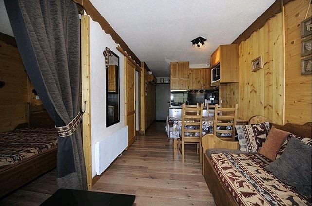 4 Pers Studio + cabin ski-in ski-out / VILLARET 405